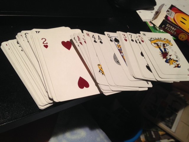deck of cards for workouts