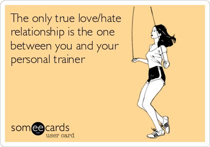 personal trainer love hate