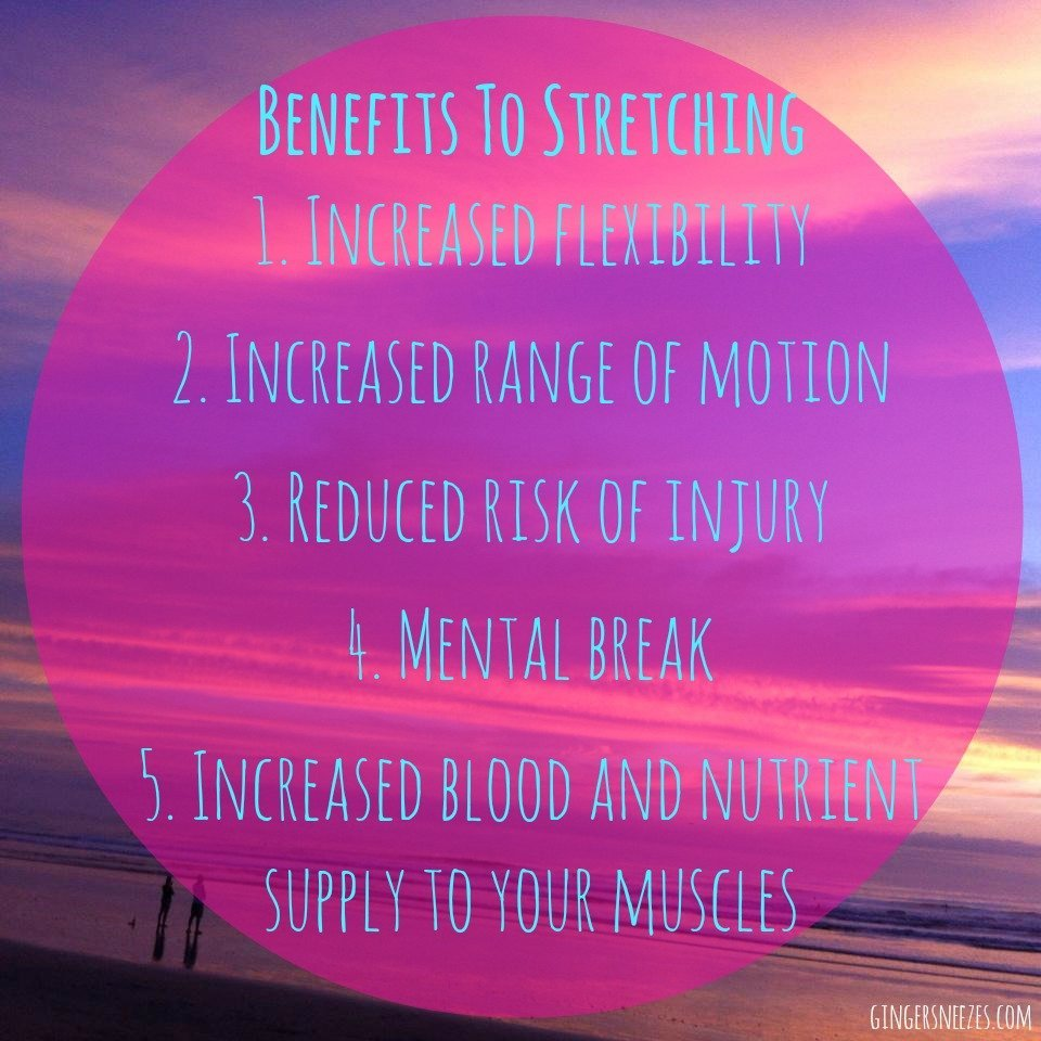Be flexible in your fitness routine: benefits-to-stretching