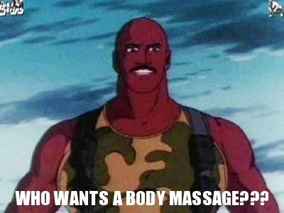 Be flexible in your fitness routine: body massage