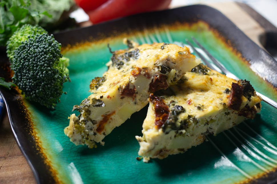 ZooFit Recipe of the Week: Mediterranean Frittata