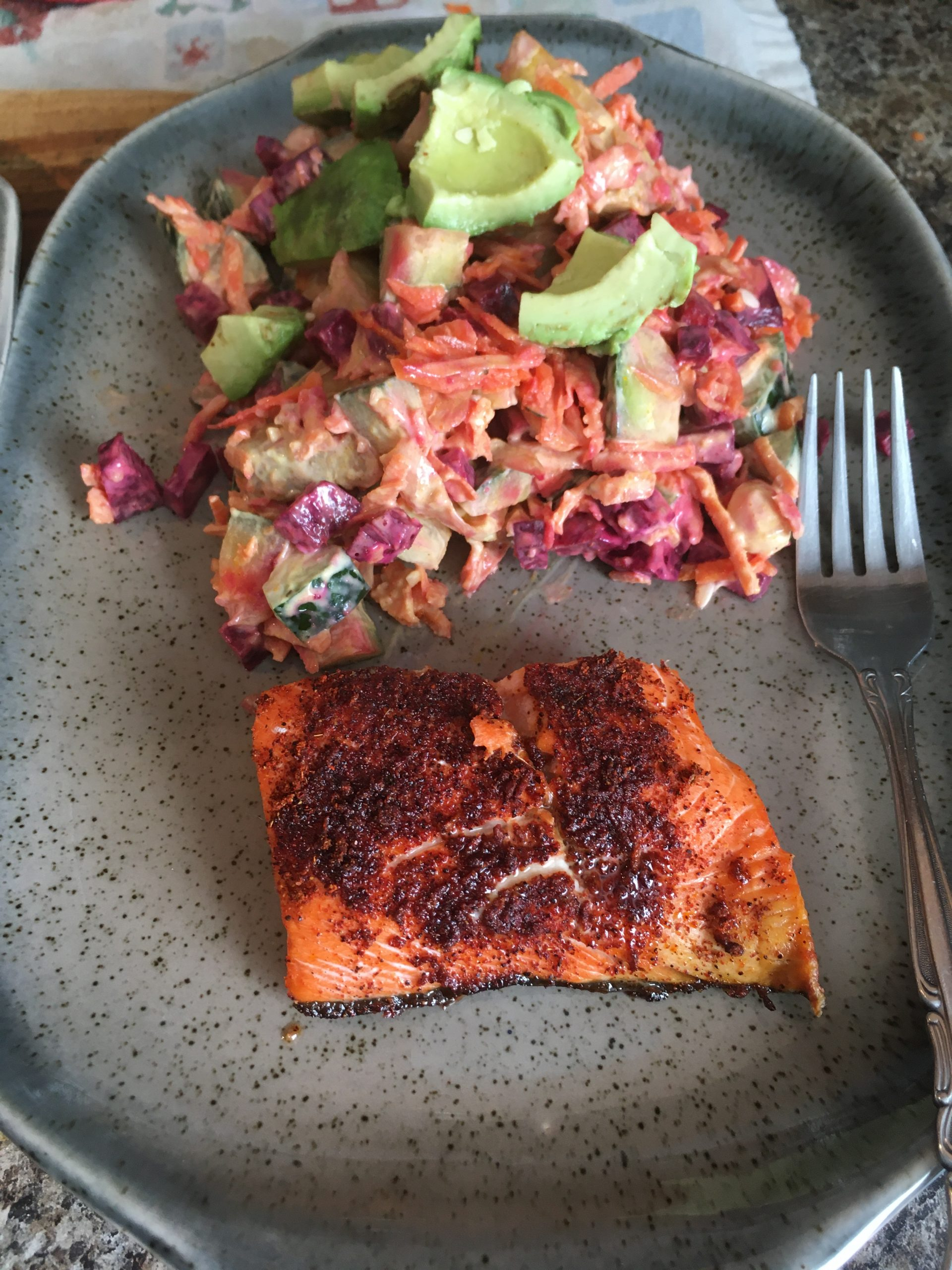 ZooFit Recipe of the Week- Maple Chipotle Salmon